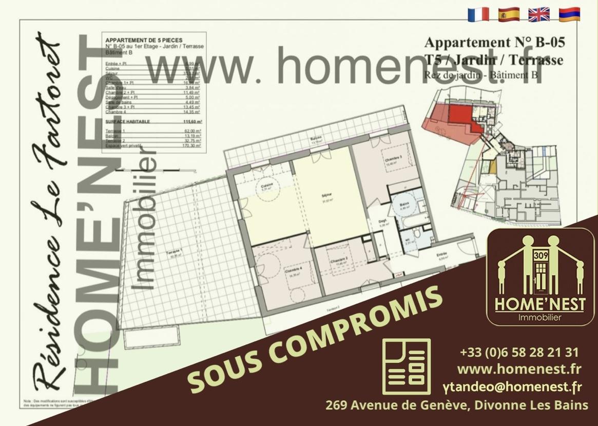 Offres de vente Appartement Éloise (01200)
